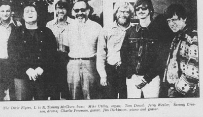 Jerry Wexler with the Dixie Flyers